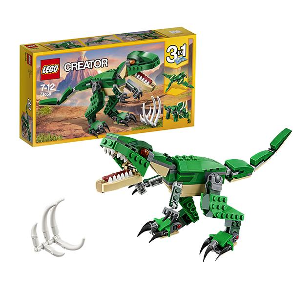 Lego Creator 31058 Конструктор Лего Криэйтор Грозный динозавр lego lego creator 31044 лего криэйтор животные в парке
