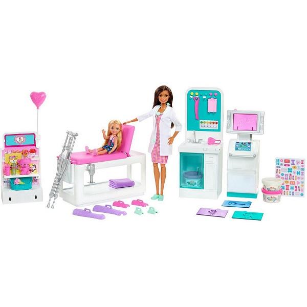 "Mattel Barbie GTN61 Барби Набор игровой ""Клиника"""