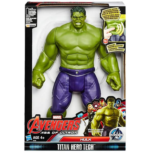 Hasbro Avengers B1382 Титаны: Интерактивная фигурка Халка