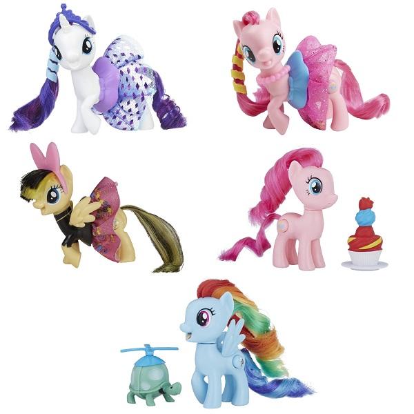 Hasbro My Little Pony E0186 ПОНИ в блестящих юбках (в ассортименте)