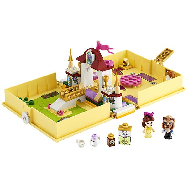 LEGO Disney Princess 43177 Конструктор ЛЕГО Принцессы Дисней Книга сказочных приключений Белль