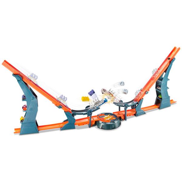 """Mattel Hot Wheels DHY25 Хот Вилс Трасса """"Супер гравитация"""""""