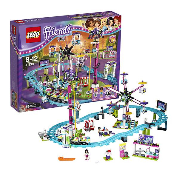 Lego Friends 41130 Конструктор Лего Подружки Парк развлечений: американские горки конструктор lego friends 41129 парк развлечений фургон с хот догами