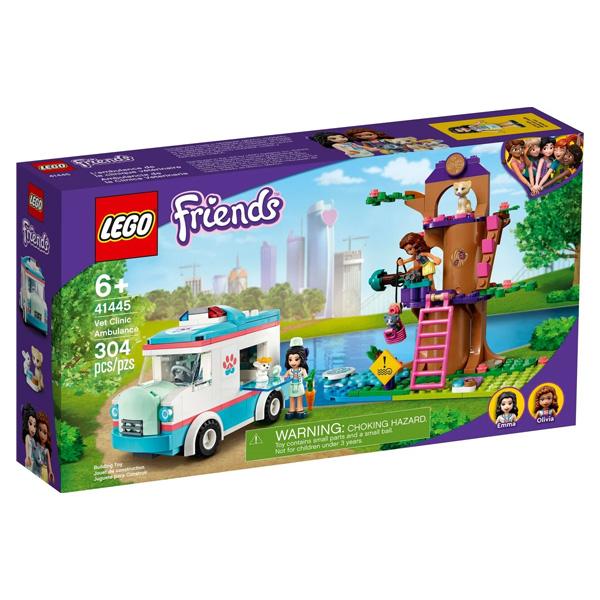 LEGO Friends 41445 Конструктор ЛЕГО Подружки Машина скорой ветеринарной помощи