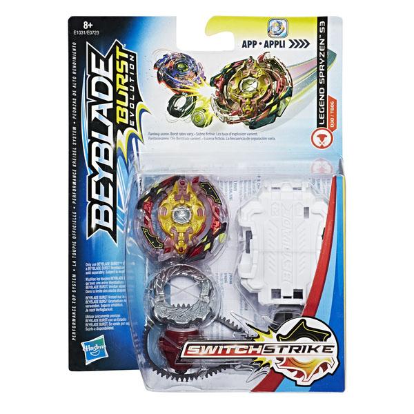 Hasbro Bey Blade E0723 Бейблэйд: Волчок Свич Страйк и пусковое устройство