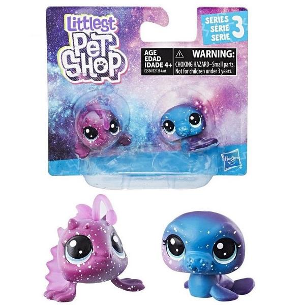Hasbro Littlest Pet Shop E2128 Литлс Пет Шоп 2 космических пета (в ассортименте)