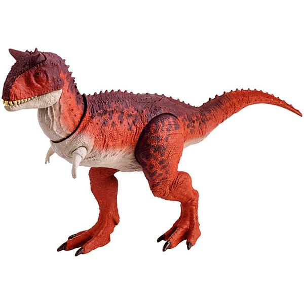 "Mattel Jurassic World FMW89 Фигурки динозавров ""Боевой удар"" Carno"