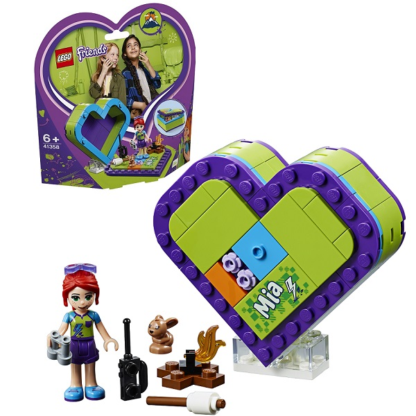 LEGO Friends 41358 Конструктор ЛЕГО Подружки Шкатулка-сердечко Мии lego friends 41354 шкатулка сердечко андреа конструктор