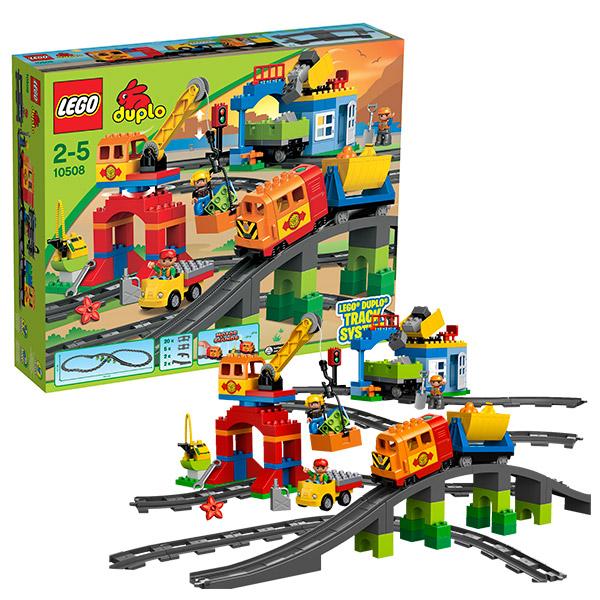 LEGO DUPLO 10508 Конструктор ЛЕГО ДУПЛО Большой поезд