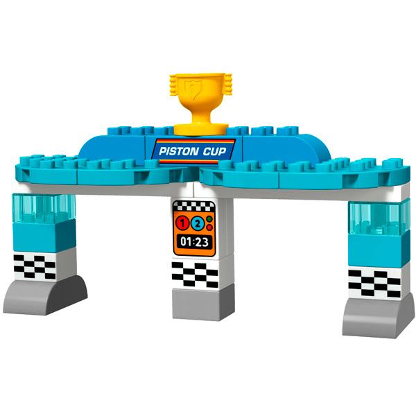 LEGO DUPLO 10857 Конструктор ЛЕГО ДУПЛО Тачки Гонка за Кубок Поршня