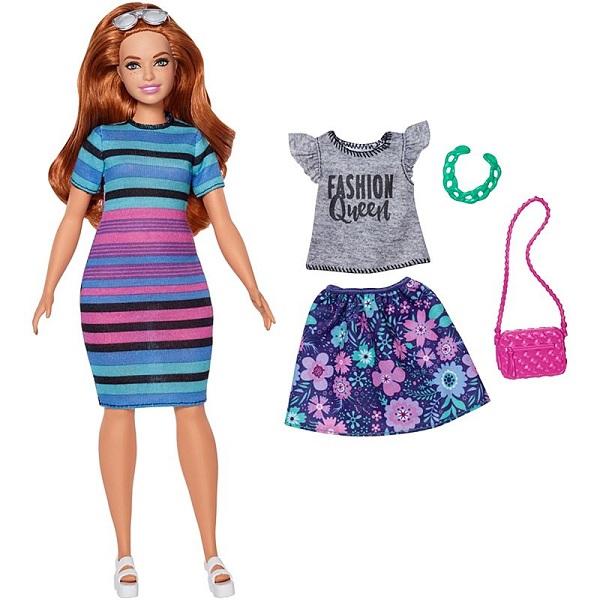 Mattel Barbie FJF69 Барби Игра с модой Куклы & набор одежды (в ассортименте) кукла barbie mattel barbie радужная принцесса с волшебными волосами в ассортименте dpp90