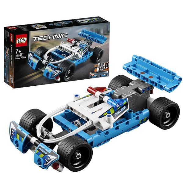 лучшая цена LEGO Technic 42091 Конструктор ЛЕГО Техник Полицейская погоня