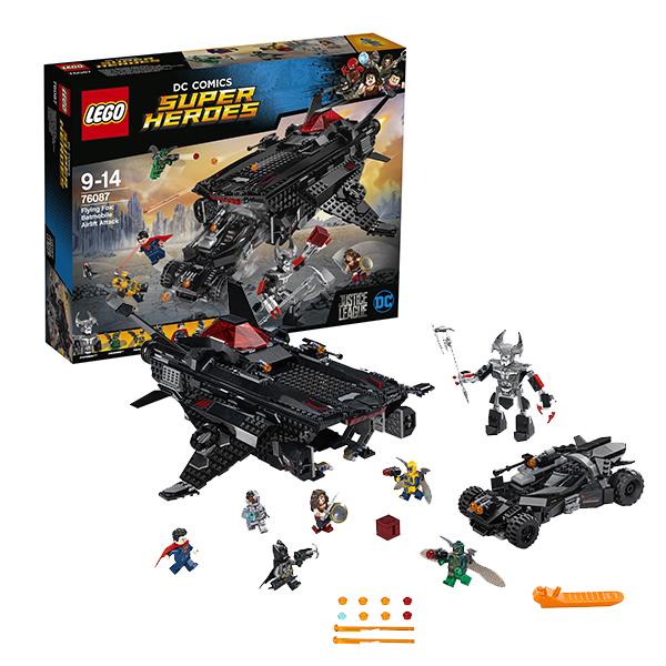 Lego Super Heroes 76087 Конструктор Лего Супер Герои Нападение с воздуха конструктор lego super heroes нападение с воздуха 76087 l