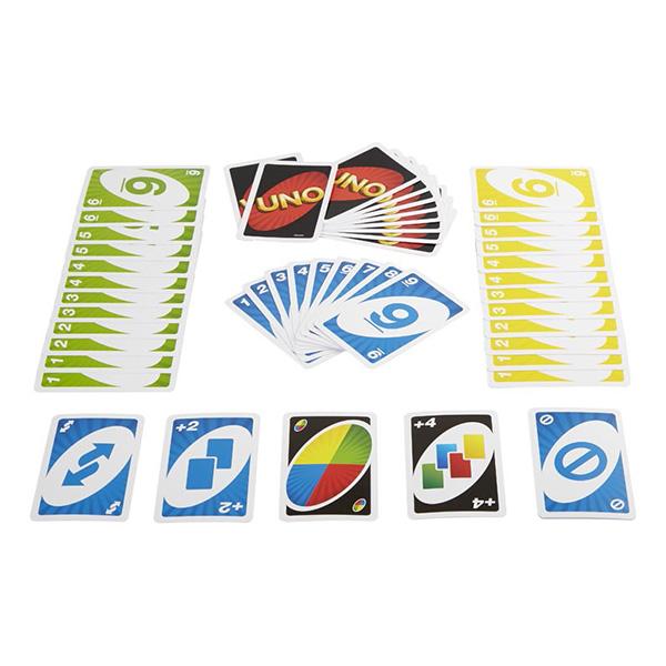 Uno W2087 Классическая карточная игра Уно