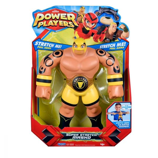 Power Players 38403 Фигурка героя Маско со звук. эффектами, 25 см