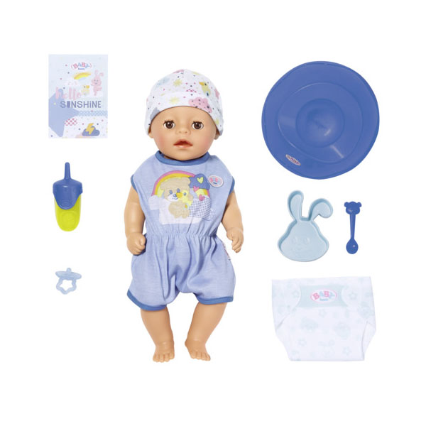 Zapf Creation Baby born 827-338 Бэби Борн my little BABY born Мальчик Нежное прикосновение, 36 см my little baby born комплект одежды для дома 823 149