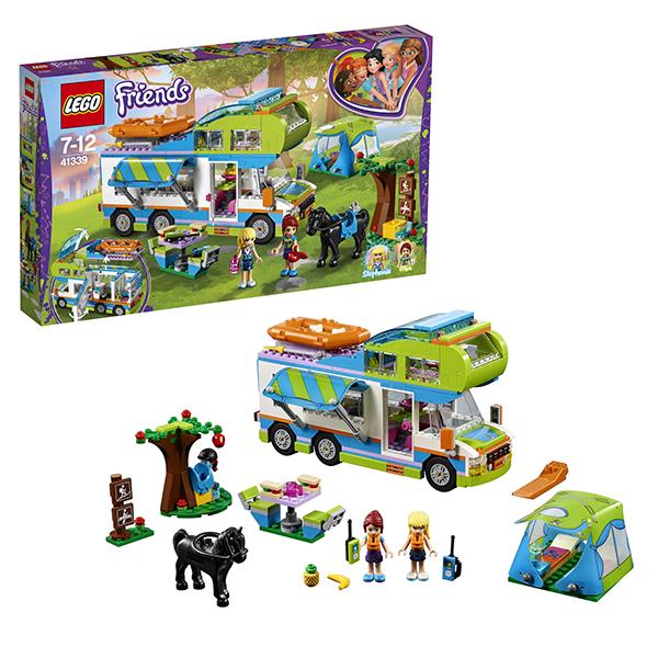 Lego Friends 41339 Конструктор Лего Подружки Дом на колёсах lego конструктор подружки спортивный лагерь дом на дереве