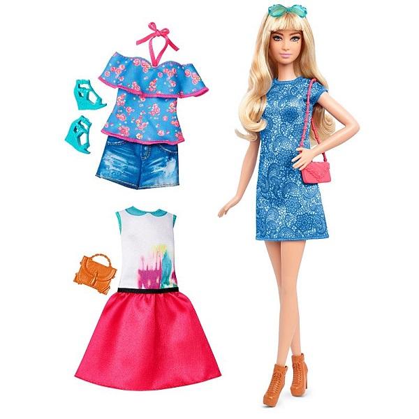 Mattel Barbie DTF06 Игровой набор из серии Игра с модой mattel кукла набор одежды barbie