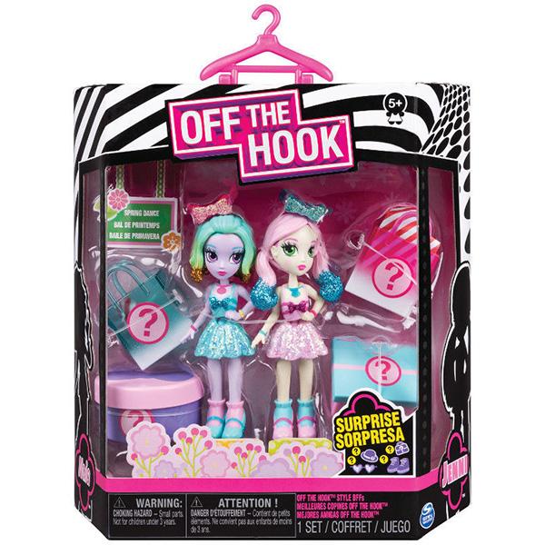 """Off the Hook 6045574-VT Набор кукол """"Стильные лучшие подружки"""" (Весенний танец)"""