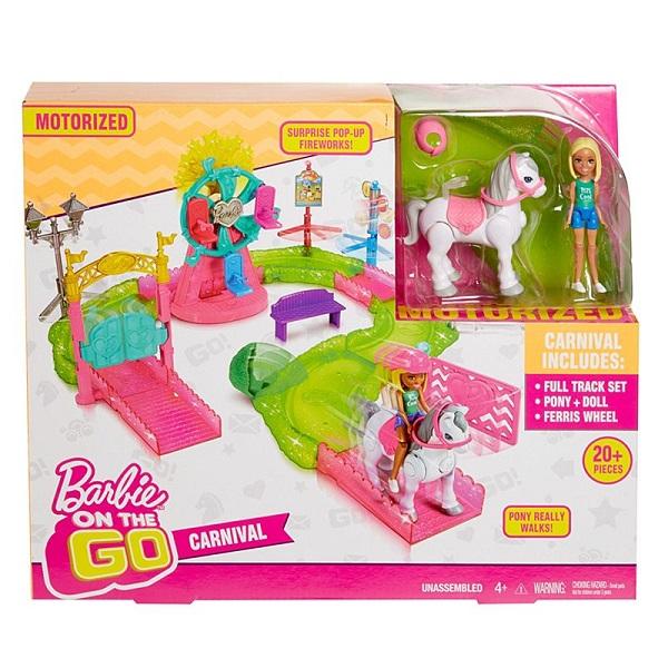 """Mattel Barbie FHV70 Барби В движении Игровой набор """"Парк аттракционов"""""""