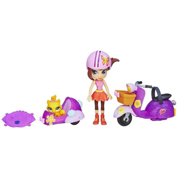 Hasbro Littlest Pet Shop A8230 Литлс Пет Шоп Блайс на скутере