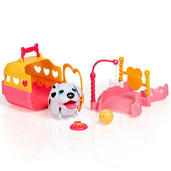 """Chubby Puppies 56701_9 Упитанные собачки Игровой набор """"Детская площадка"""""""