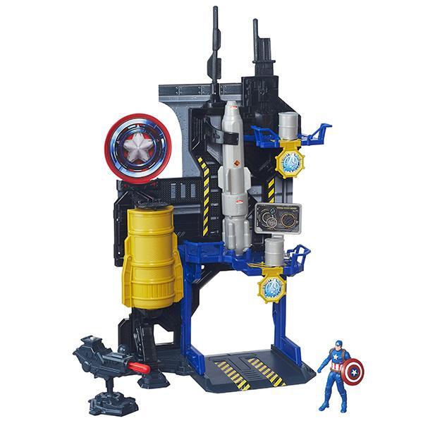 Hasbro Avengers B5770 Игровая башня Мстителей (в ассортименте) оружие игрушечное hasbro hasbro бластер nerf n strike mega rotofury