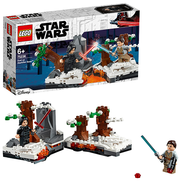 LEGO Star Wars 75236 Конструктор ЛЕГО Звездные Войны Битва при базе Старкиллер