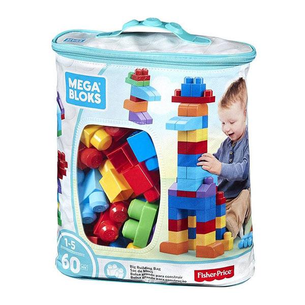 Mattel Mega Bloks DCH55 Мега Блокс Конструктор из 60 деталей mattel mega bloks dpp73 мега блокс грузовик трансформер