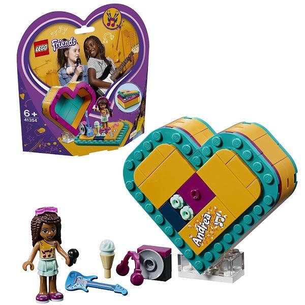 Фото - Lego Friends 41354 Конструктор Лего Подружки Шкатулка-сердечко Андреа lego friends скоростной катер андреа 41316