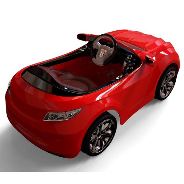 Henes Phantom Premium 783137 Детский электромобиль Хенес Фантом Премиум Красный