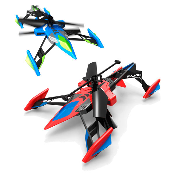 Airhogs 44587 Эйрхогс Вертолёт-лезвие (ездит и летает) (в ассортименте)
