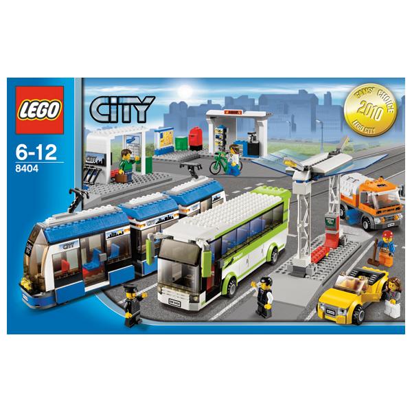 Lego City 8404 Конструктор Лего Город Общественный транспорт