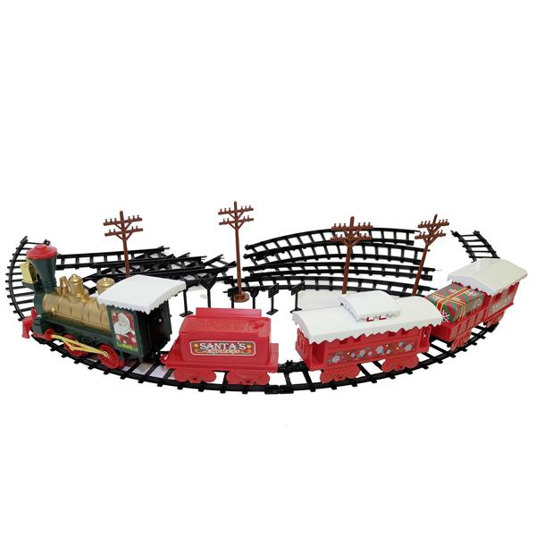 EZTEC 60616 Железная дорога CHRISTMAS TRAIN