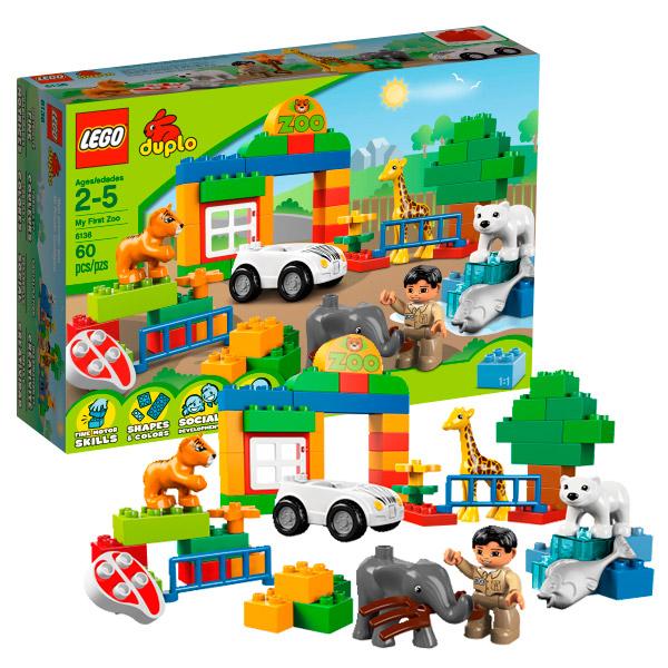 Лего Дупло 6136 Конструктор Мой первый Зоопарк