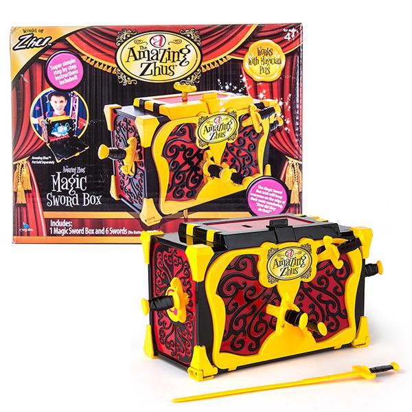 Amazing Zhus 26050 Удивительные Жу Ящик для фокуса с мечами amazing zhus amazing zhus игровой набор amazing zhus ящик для фокуса с мечами