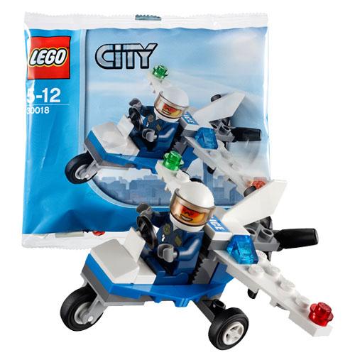 LEGO City 30018 Конструктор ЛЕГО Город Полицейский самолёт