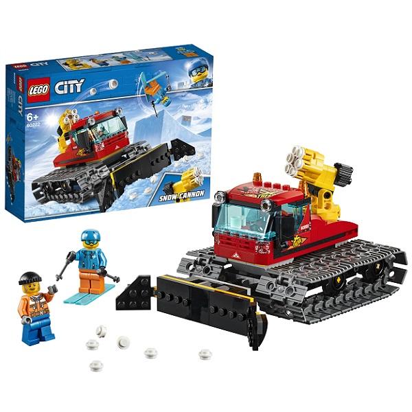 цена на LEGO City 60222 Конструктор Лего Город Транспорт: Снегоуборочная машина