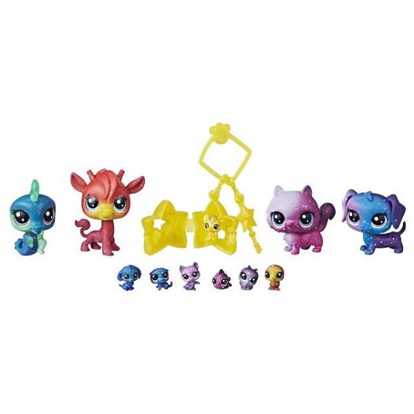 Hasbro Littlest Pet Shop E2130 Литлс Пет Шоп 11 космических петов фигурки игрушки littlest pet shop игрушка зверюшка
