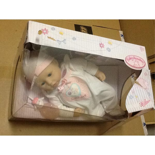 Zapf Creation Baby Annabell 791-578_1 Бэби Аннабель Кукла с мимикой (многофункциональная), 46 см