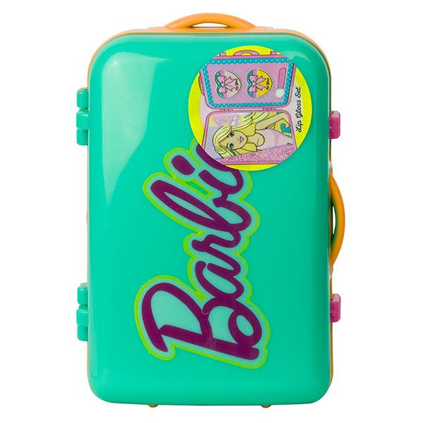 Фото - Markwins 9600251 Barbie Набор детской декоративной косметики в чемоданчике зеленый набор школьниика barbie