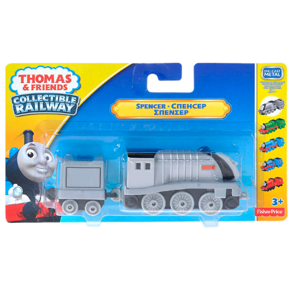 Thomas & Friends BHR77 Томас и друзья Паровозик Спенсер с прицепом