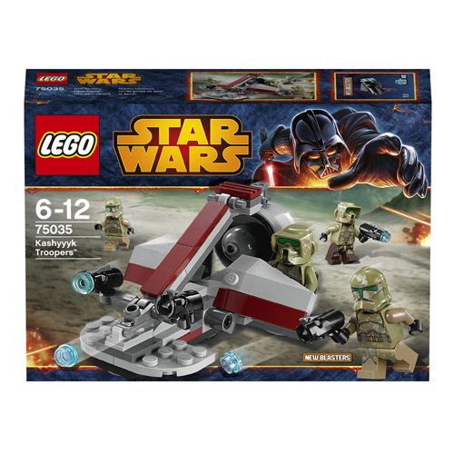 Lego Star Wars 75035 Конструктор Лего Звездные войны Воины Кашиик