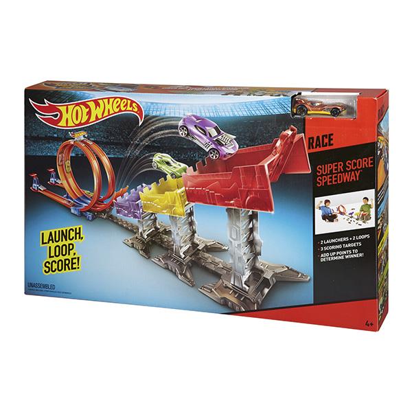Mattel Hot Wheels DJC05 Хот Вилс Суперскоростная трасса