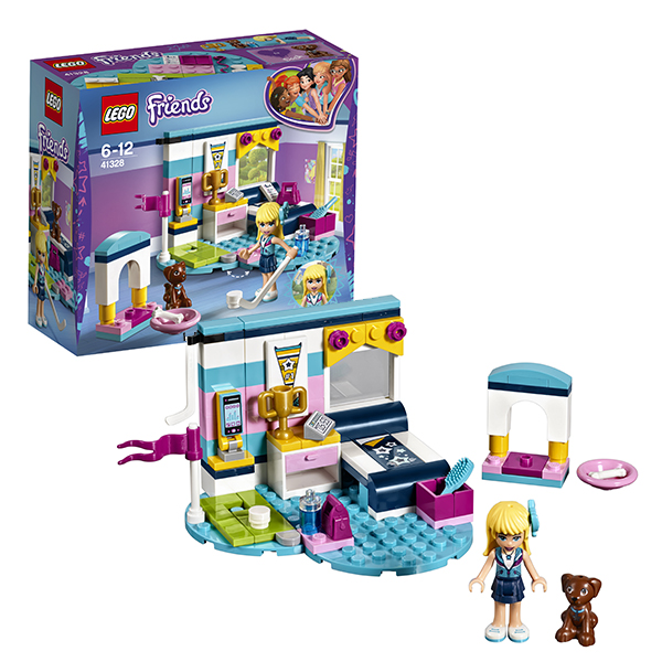 Lego Friends 41328 Конструктор Лего Подружки Комната Стефани lego конструктор подружки спортивный лагерь дом на дереве