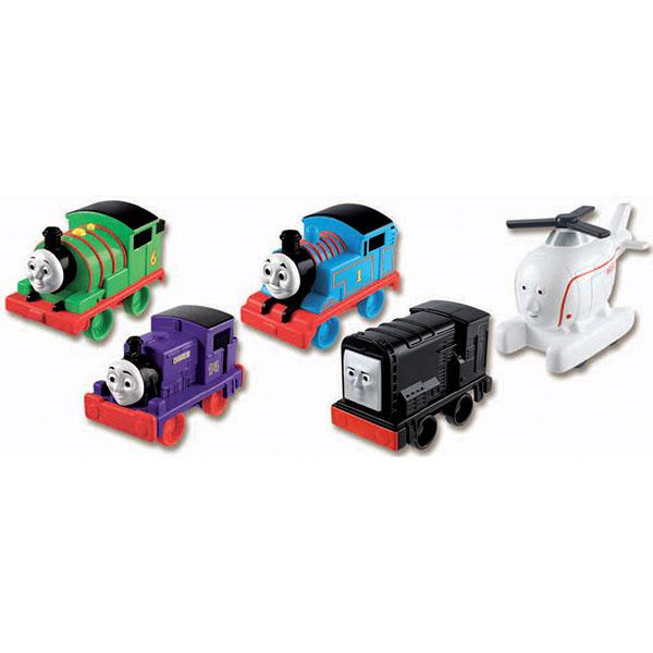Mattel Thomas & Friends W2190 Томас и друзья Веселые друзья-паровозики томас и друзья паровозики в ассортименте thomas