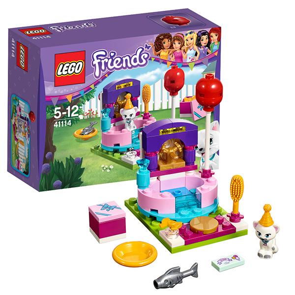 Lego Friends 41114 Конструктор День рождения: салон красоты