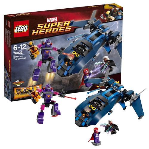 Lego Super Heroes 76022 Конструктор Лего Супер Герои Люди Икс против Стражей