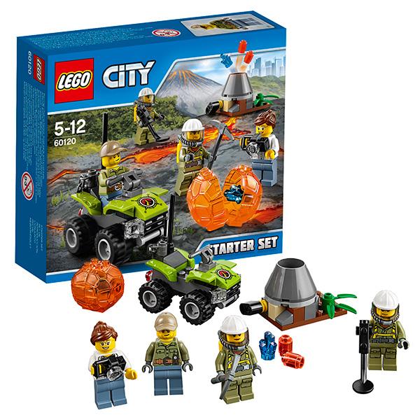 Lego City 60120 Лего Город Набор для начинающих Исследователи Вулканов lego 60139 город мобильный командный центр