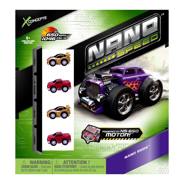 Nano Speed 4 90101_1 Нано Спид машинки (в ассортименте)